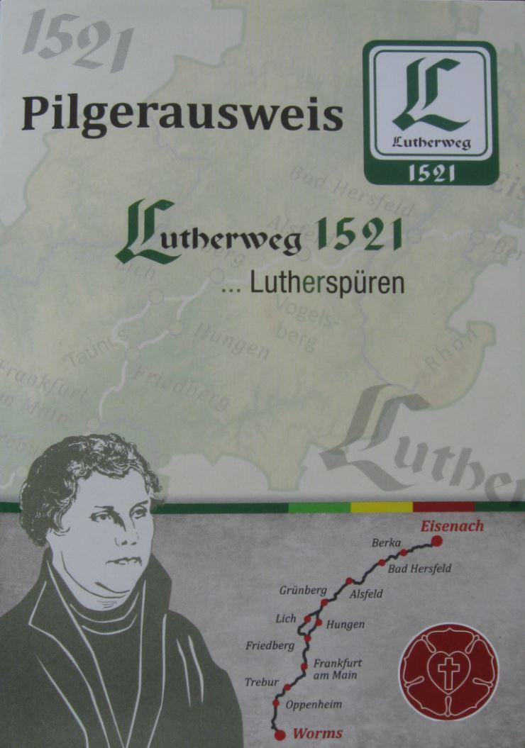 Kostenlos über die Webseite www.lutherweg1521.de